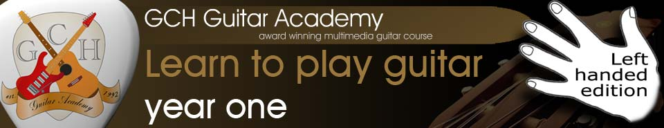 GCH Guitar Academy, free online guitar lessons from the complete 2 year guitar course