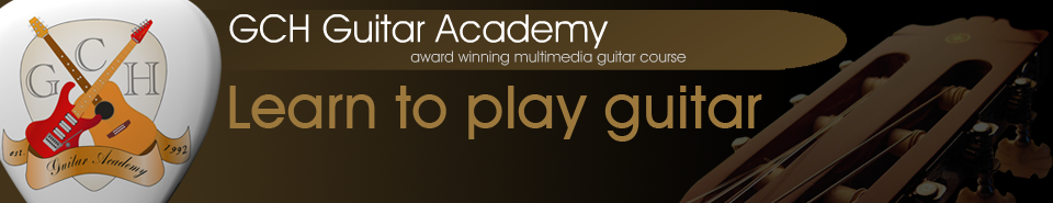 GCH Guitar Academy, online guitar lessons from the 3 year guitar course